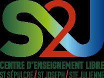 S2J, Centre d'Enseignement Libre - Saint-Sépulcre, Saint-Joseph, Sainte-Julienne - Logo