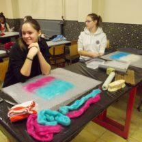 S2J atelier feutrage laine
